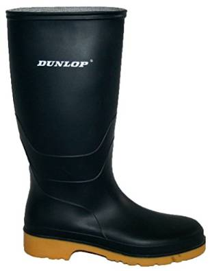BLUE FULLY WATERPROOF DUNLOP WELLIES