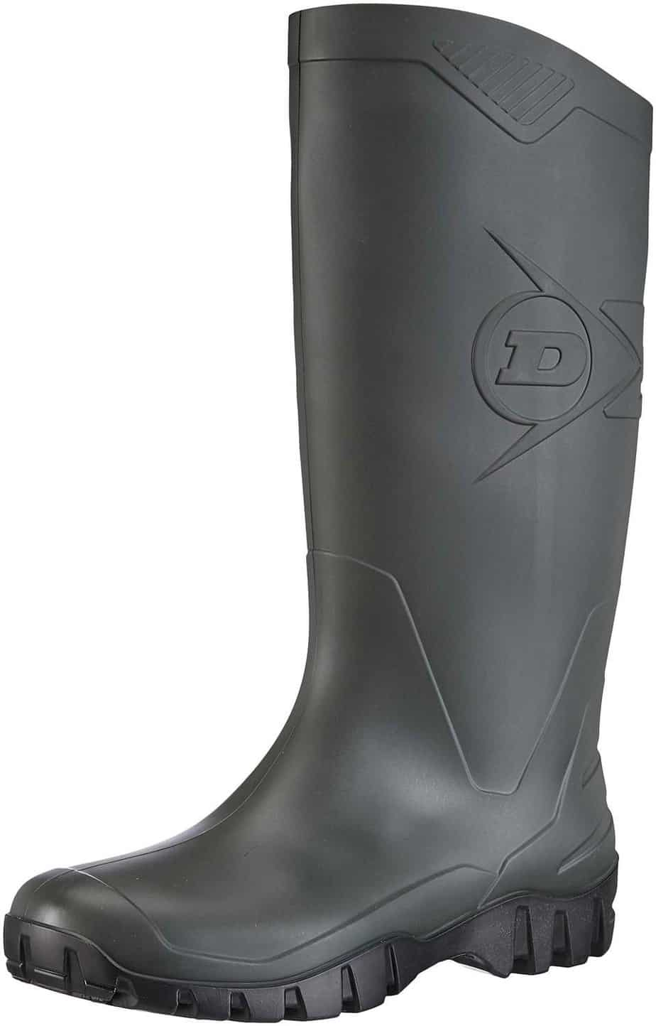 Dunlop Unisex Adults' K580011 PVC KUITLAARS Unlined Rubber Boots Half Shaft Boots & Bootees