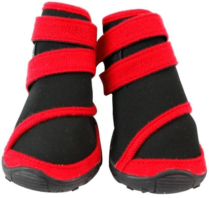 Eleery 4pcs Dogs' Waterproof Rain Boots