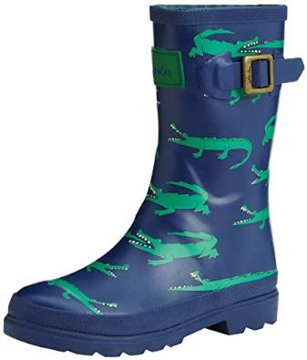Joules Printed Welly, Boys' Rain Boots