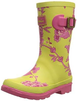 Joules printed welly girls