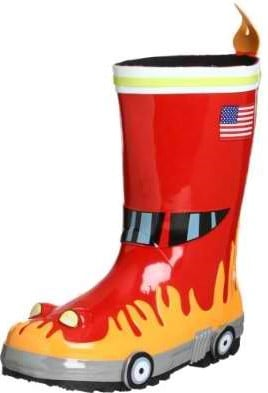 Kidorable Fireman Rainboots