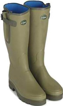 Le Chameau Ladies Vierzonord Warm Neoprene Lined Wellingtons With Adjustable Calf Gusset