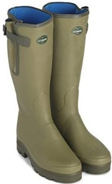 Le Chameau Mens Vierzonord Warm Neoprene Lined Wellingtons With Adjustable Calf Gusset