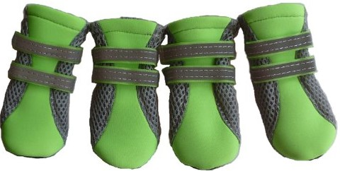 Vibrant Fellow Paw Protector Dog Boots Breathable