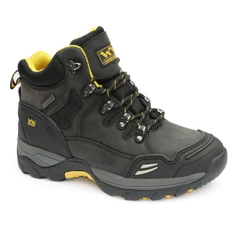 Wood World Waterproof Leather steel toe boots