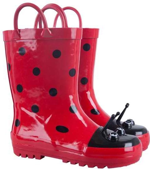 ladybug wellies from Mountain Warehouse