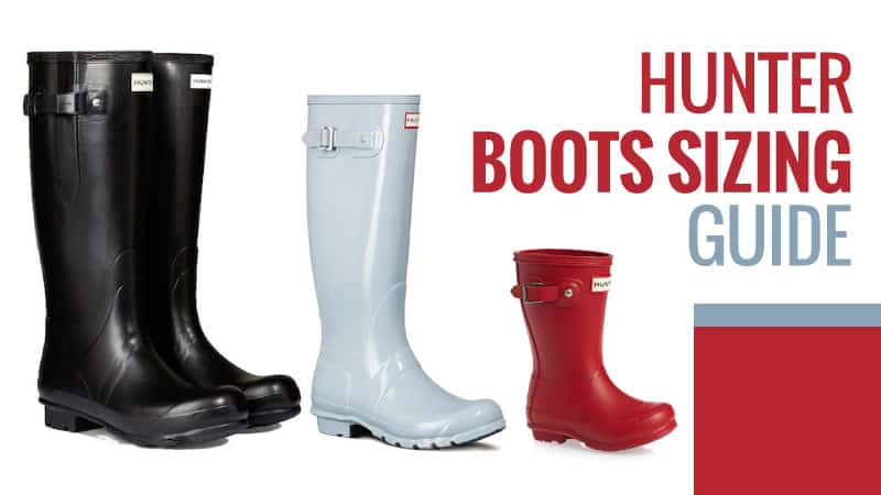 d9622ad81f6 Hunter Boots Sizing Guide – Do They Come Up Small? (August Updated)