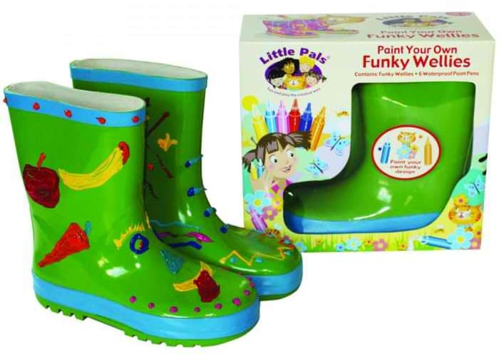 Paint your Own Wellies