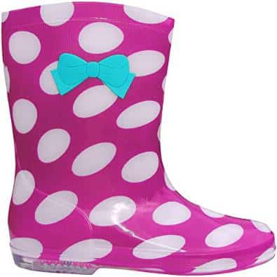 Teddy T Polka Dot Welly