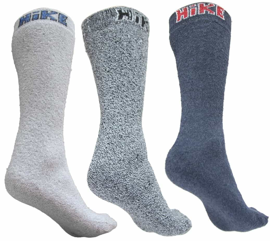 Active Athletes 3 Pairs of the Best Hiking & Walking Socks for Men + Women
