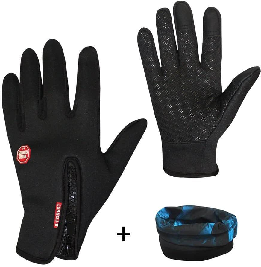 Eizur Windproof Skidproof Touchscreen Sports Gloves