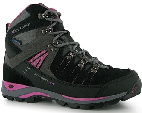 Karrimor Ladies Hot Rock Waterproof Trekking Boots