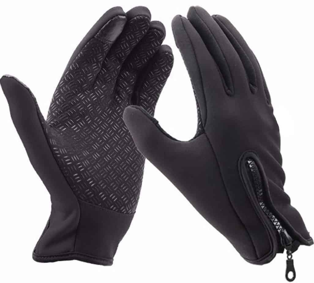 Keersi Winter Gloves Touch Screen Windproof Outdoor