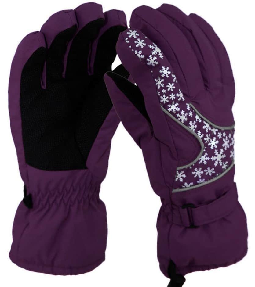 Liying® Stylish Lady Winter Outdoor Ski Snowboard Full Finger Gloves