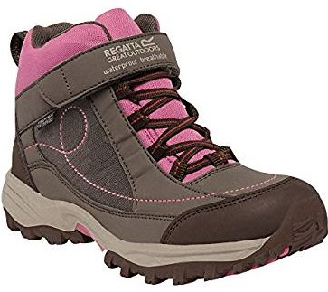 Regatta Girls Trailspace Low Breathable Walking Shoes Pink RKF402