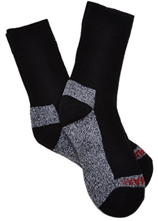 WB Socks 2 Pairs of Thick Cotton Coolmax walking Socks cushioned foot