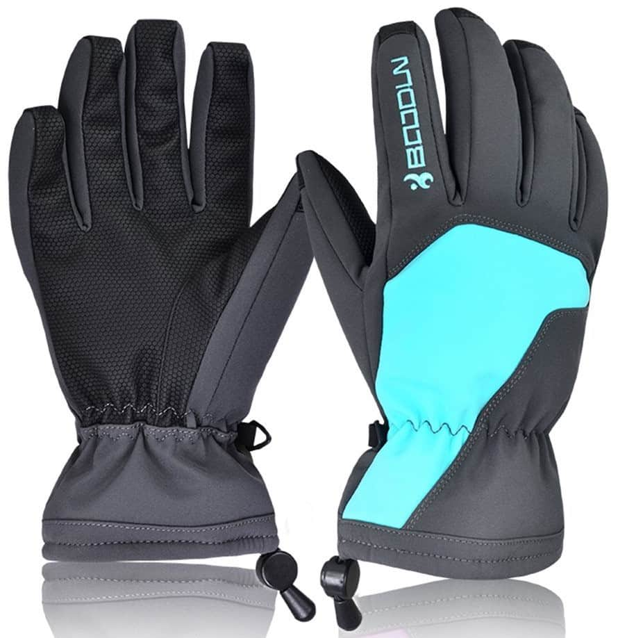 Winter Ski Gloves - Outdoor Snowproof Gloves