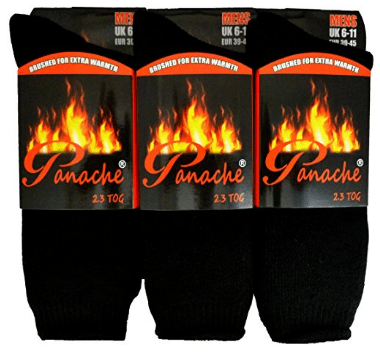 3 MENS THERMAL HOT SOCKS