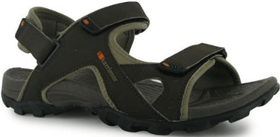 Karrimor Mens Gents Antibes Hook Loop Fasten Padded Strap Sandals Shoes
