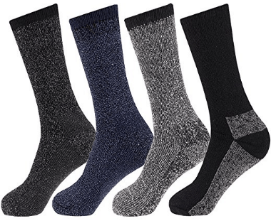 Men's Arctic Comfort LONG Wool Thermal Socks