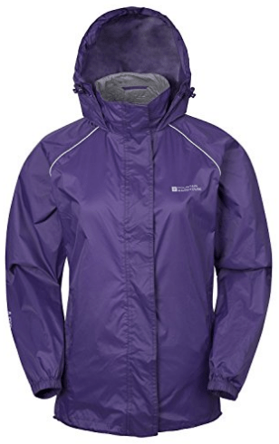 Mountain Warehouse Women's Pakka Waterproof Rainproof Jacket Coat