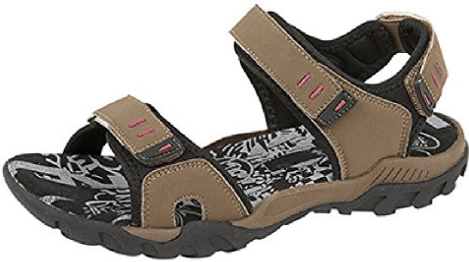 PDQ Pink Grey Adventure Trail Walking Sandals