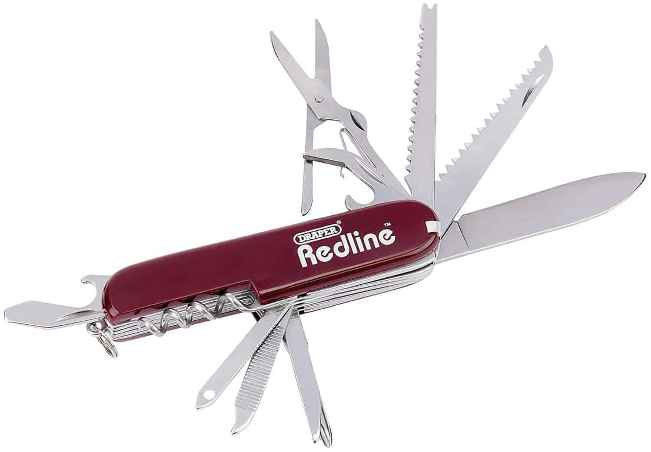 Draper Redline 67679 13 Function Pocket Knife