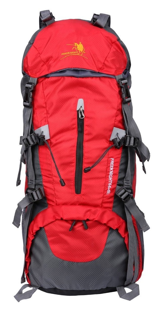 Freeknight 60L Travel Backpack Large Hiking Camping Ruck Sack
