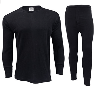 GAFFER Men's Thermal Long Johns / Bottoms Trousers, Long Sleeve T-Shirt Top Vest Underwear