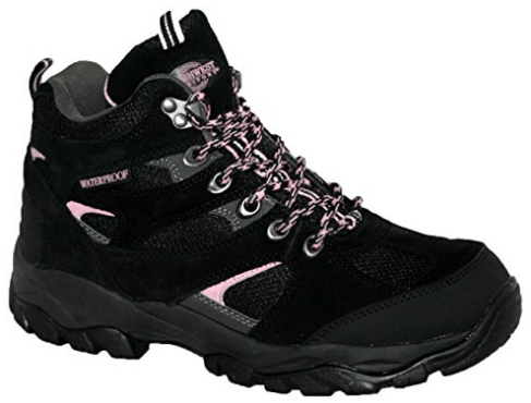 LADIES CHARLOTTE FULLY WATERPROOF WALKING/HIKING LACE UP TRAINER BOOT