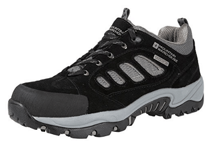 Mountain Warehouse Men's Lockton Waterproof Walking Hiking Rainproof Shoes