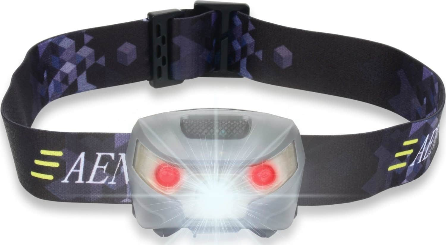 USB Rechargeable LED Head Torch