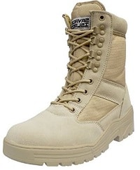Desert Army Combat Patrol Boots Tactical Cadet Military Suede Leather Tan Jungle
