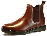 Oaktrak Winterhill Leather Chelsea Men's Dealer Derby Boots Black Tan Bordo Brown Oxblood