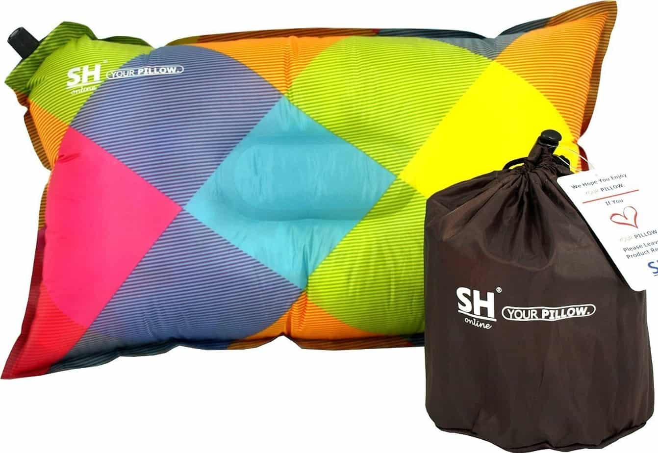 YOUR Pillow! by SHO - Ultimate Self Inflating Camping Pillow