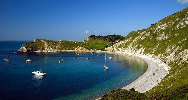 Knoll Beach, Studland, to Lulworth Cove, Dorset