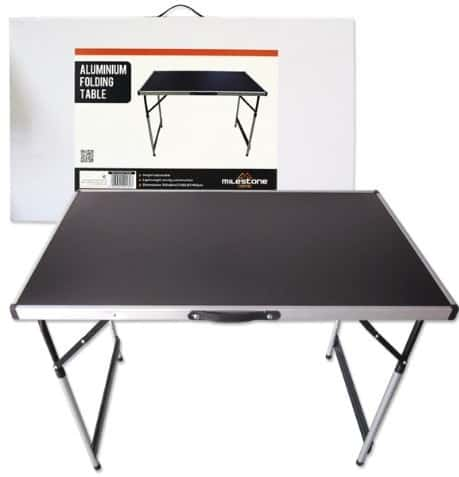 Milestone Camping Aluminium Folding Table