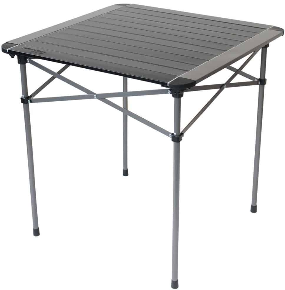 Yellowstone Aluminium Roll Top Single Table