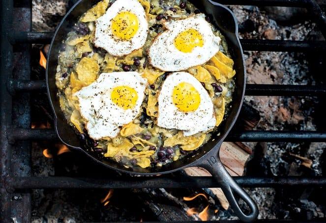 egg camping recipe