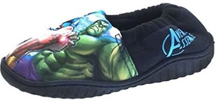 Kids Marvel Avengers Light Up Slippers