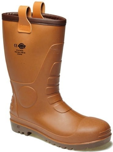 Dickies Mens Groundwater Safety Wellington Boots