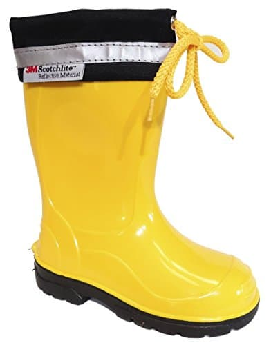 Lemigo-Kids-Boys-Girls-Childrens-Wellington-Boots-Yellow