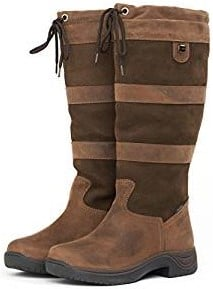 Dublin Waterproof River Tall Boots Dark Brown