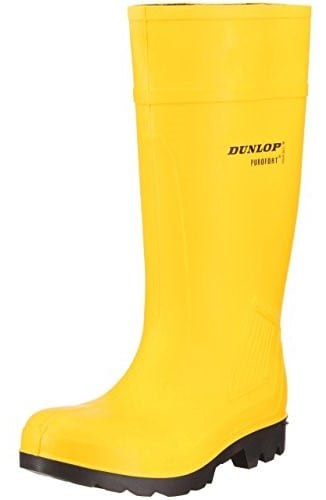 Dunlop Wellington Boots Yellow