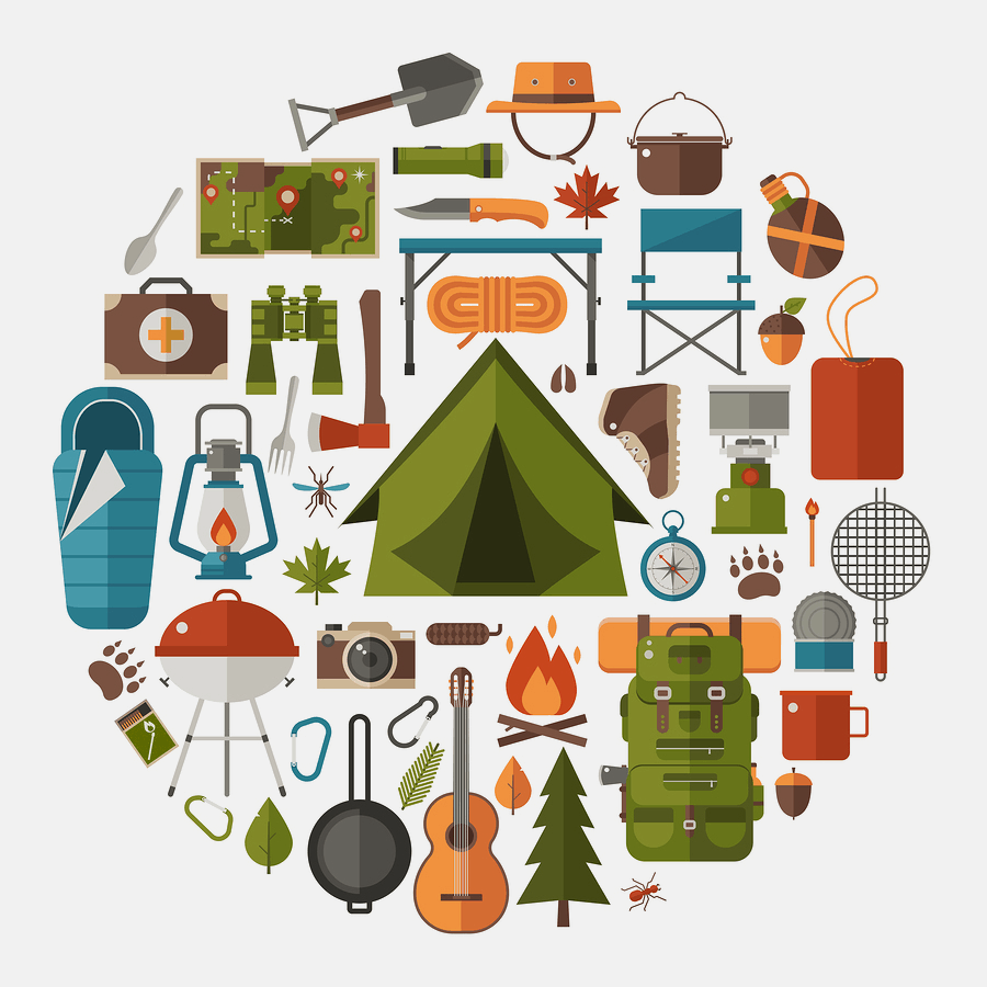 Camping Trip Graphic Design
