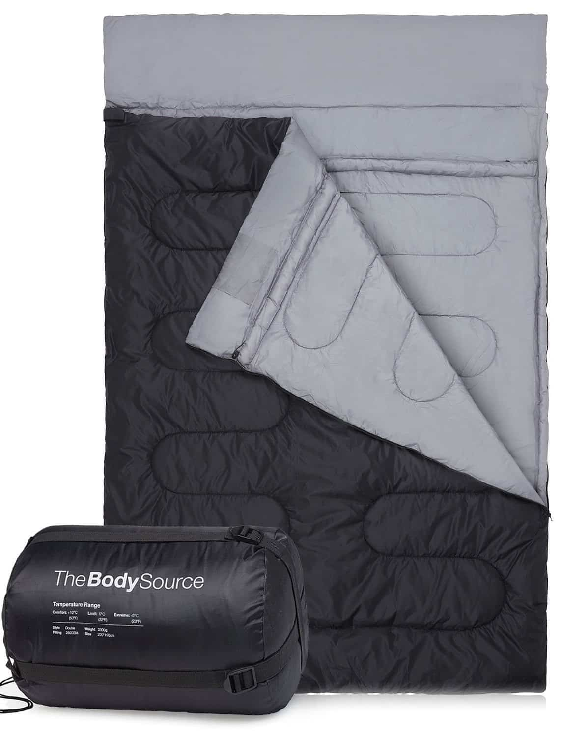 Best Cheap Double Sleeping Bag – The Body Source