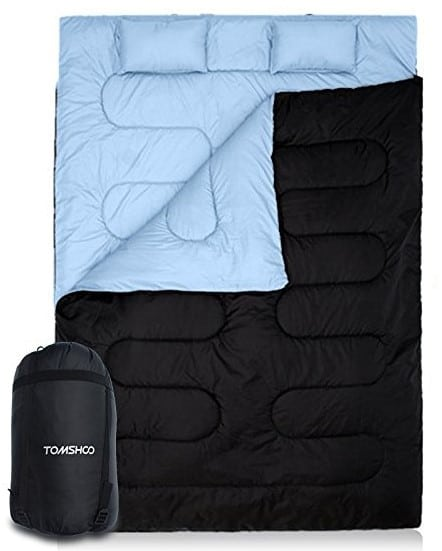 Best Cheap Double Sleeping Bag - TOMSHOO