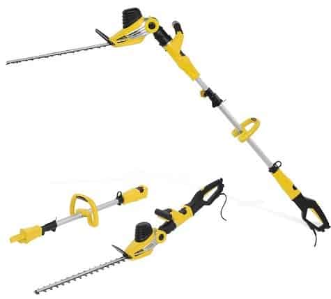 Best Telescopic Hedge Trimmer – Power-Plus