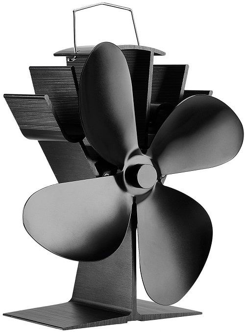 Silent Operation Heat Powered Stove Fan